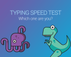 Typing Speed Test - A Simple Typing Test to See How Fast You Can Type