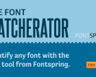 Font Matcherator - Find the Font You Need