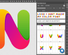 Fontself Maker for Photoshop - Turn any Lettering into Color & Vector Fonts