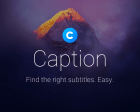 Caption for Mac