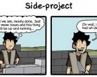 Cartoon Reveals the Importance of Completing Side Projects