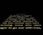Star Wars-style Opening Crawls of the Day's News