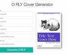 O'reilly Book Cover Generator