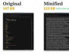 The Difference Between Minification and Gzipping