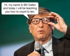 How to Count to 10 by Bill Gates