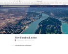 Facebook Notes Revamp Set to Battle Medium and Twitter