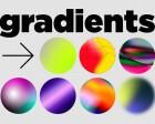 Trendy Gradients in Web Design