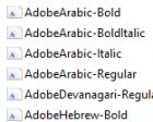 Adobe Drops Fonts, Leaves Users Stranded