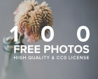 100 High Quality Free Photos with CC0 License