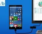 Microsoft Announces Continuum, Turning Windows 10 Phones into Desktops