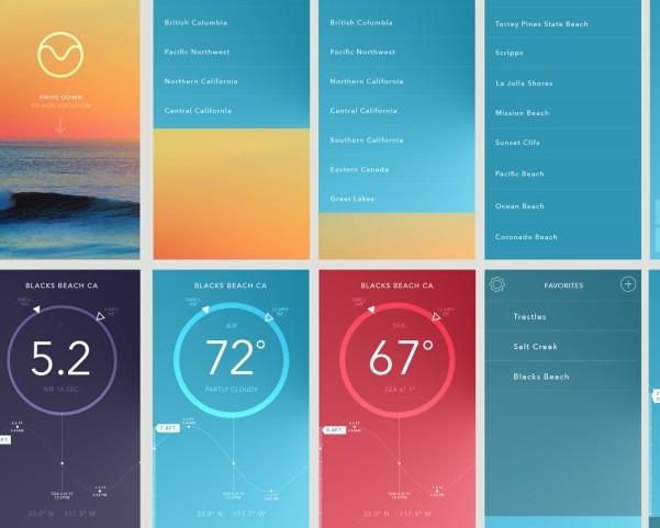 Designing a True Minimal Surf App