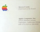 How Much Would You Pay to own Steve Jobs' Business Cards?