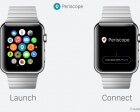 Periscope for Apple Watch (UI Concept)