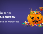 7 Ways to Bring Halloween Effects to your WordPress Site