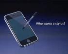 Apple: Who Wants a Stylus?