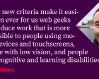 Web Content Accessibility Guidelines 2.1—for People Who Haven't Read the Update