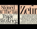Swans, Lamborghinis, Indian Luxury and Wild Wild Country Inform Futur Neue's New Font