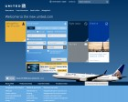 Site Design: United Airlines (beta)