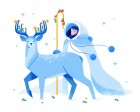 Winter Wonderland: 40+ Illustrations of Christmas and Winter