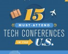 15 Must-Attend Tech Conferences in the U.S.