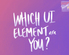 Personality Quiz for Designers - Which UI Element are You?