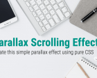 Create Simple Parallax Scrolling Effect in Hero Section Using Pure CSS
