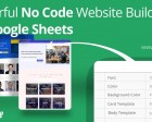 Siteoly - Turn your Google Sheets Data into a Website Without any Code