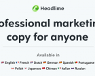 Headlime 2.0 - Professional Marketing Copy for Anyone