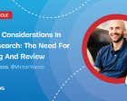 Ethical Considerations in UX Research: The Need for Training and Review
