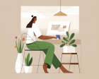 How to Set up your WFH Space for Creative Success in 2021