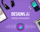 Speechmaker by Designs.ai - Convert Script to Natural-sounding Voiceovers