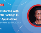 Getting Started with the GetX Package in Flutter Applications