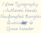 My Favorite Typefaces Of?2020