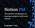 Notion PM - The Perfect Workspace to Manage Projects with your Clients