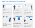 7 Classless CSS Frameworks