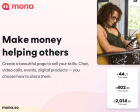 Mona - Create a Beautiful Page to Sell your Skills