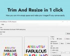 TrimAndResize - Trim Empty Space and Make your Images Fit any Canvas