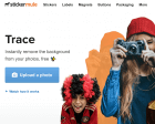 Trace: Free Tool to Remove the Background from your Photos