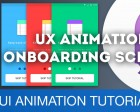 User Onboarding Screens - UI/UX Animations with Principle & Sketch