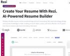 Rezi 3.0: Use the Power of AI to Build a Résumé with GPT-3