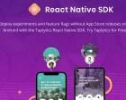 Taplytics React Native A/B Testing