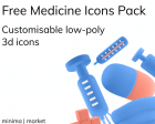 Free Medicine Icons Pack