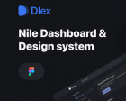 Nile Dashboard - Extensive Design System and Modular Components for Web Apps