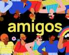 Amigos - Customizable Illustrations for any Project