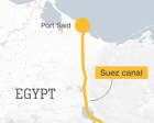Steer Through the Suez Canal