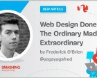 Web Design Done Well: The Ordinary Made Extraordinary