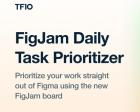 FigJam Task Prioritizer - Plan and Prioritize your Daily Design Tasks on FigJam