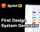 Sprint UI - First-ever Design System Generator