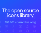 Iconoir - A Diverse and Open-source Library with 900+ Icons