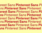 """Grilli Type Designs a Bespoke Typeface for Pinterest that Lets Pinned Imagery """"shine"""""""